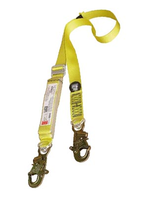 single webbing lanyard