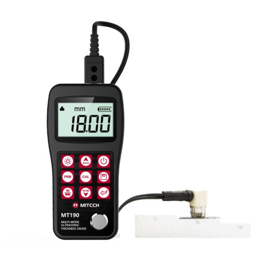 MT190 Ultrasonic Thickness Gauge 1